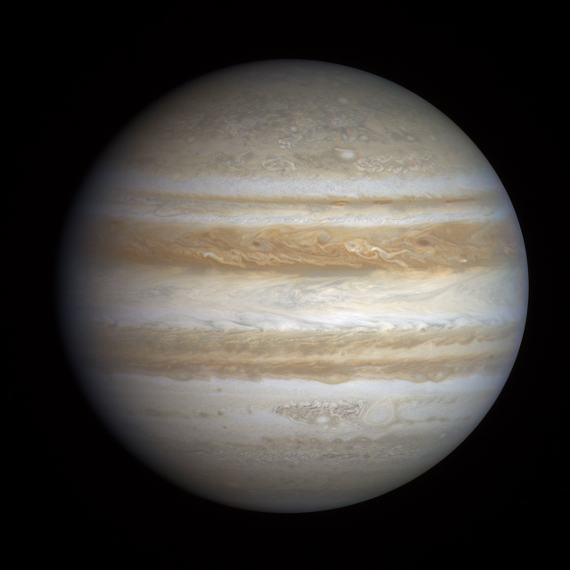 Jupiter global view from Cassini