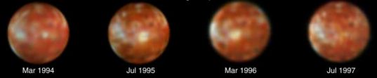 Eruption of Ra Patera, Io