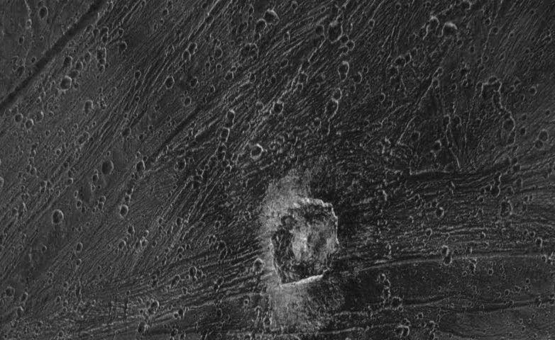 Kittu Crater, Ganymede