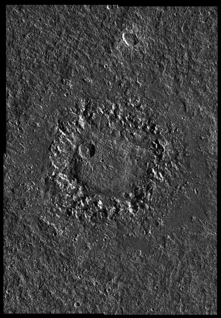 Neith Crater, Ganymede