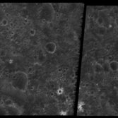 Highest resolution view ever obtained of Ganymede's dark terrain