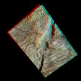 3D Anaglyph of Conamara Chaos, Europa