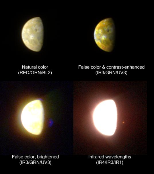 Pele's Hotspot in Infrared
