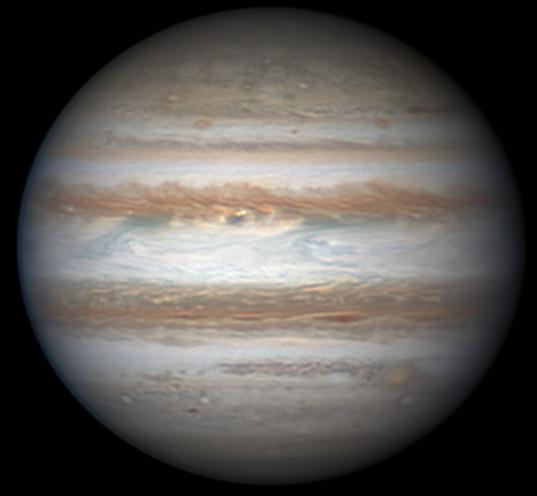 Jupiter on November 25, 2013
