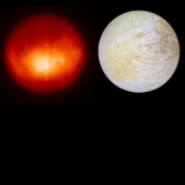 Europa from the Keck telescope and the Voyager spacecraft