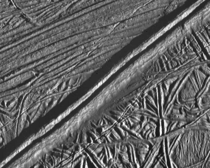 Europa's ridges