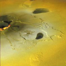 Eruption at Tvashtar Catena, Io