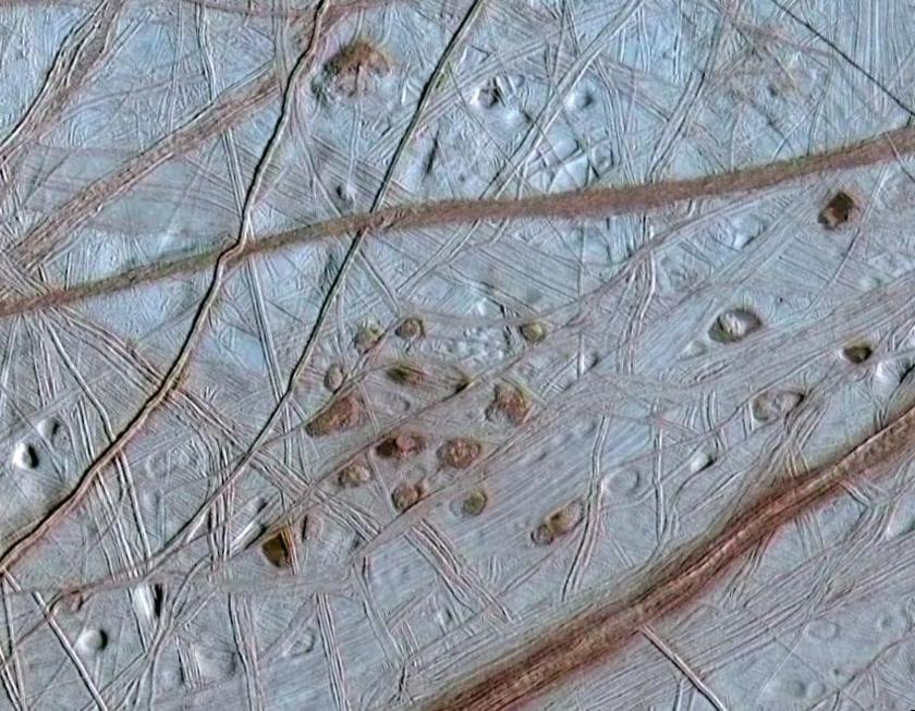 Lenticulae on Europa