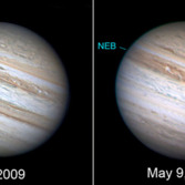 Jupiter loses a belt