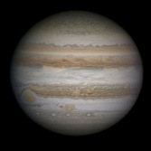 Jupiter on December 27, 2012
