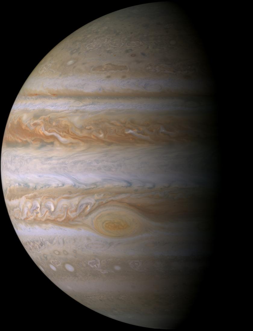 Jupiter from Cassini