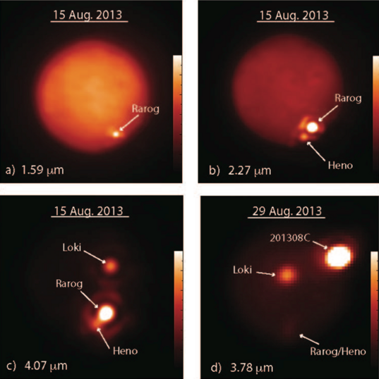 Volcanic eruptions on Io