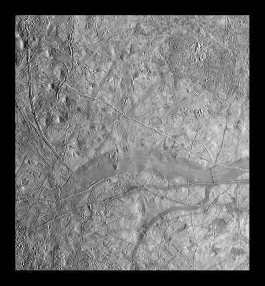 Chaos terrain and Phaidra Linea, Europa (11ESREGMAP01)