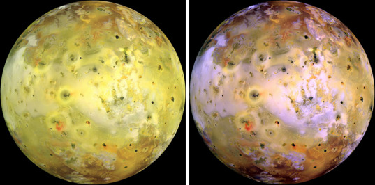 Colors on Io