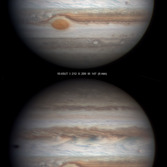 Europa and the Great Red Spot