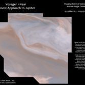 Voyager 1 at Jupiter near closest approach