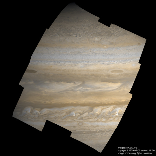 Jupiter from Voyager 2