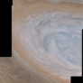 White oval in Jupiter's northern hemisphere