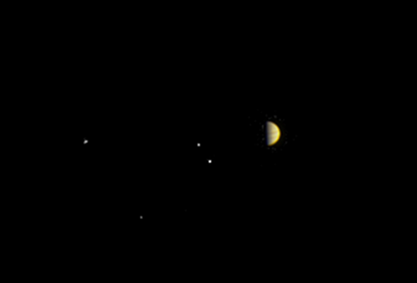 Juno sights Jupiter