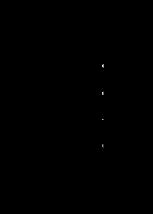 Raw JunoCam approach image of Jupiter