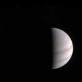 Jupiter, Europa, and Io from Junocam