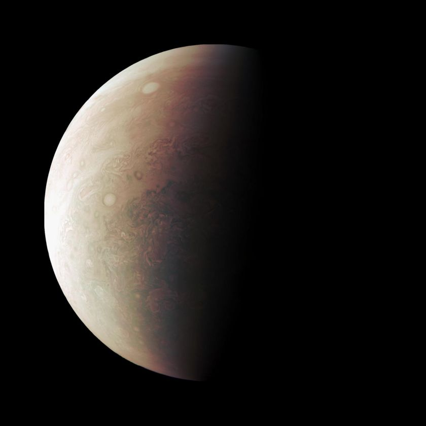 Jupiter from Juno at Perijove #3