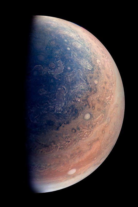 Half-Jupiter from Juno