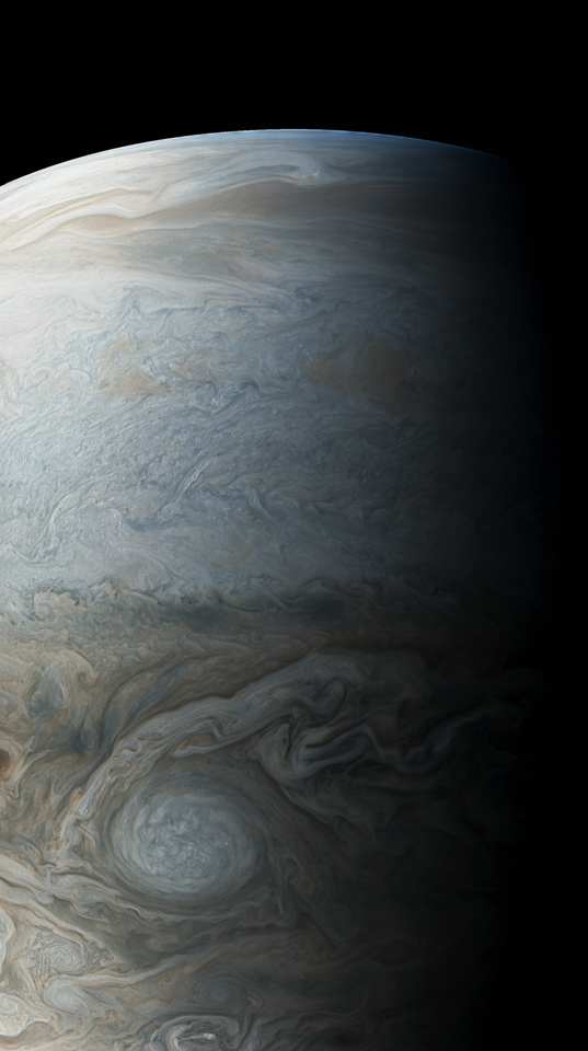 Jupiter's northern hemisphere
