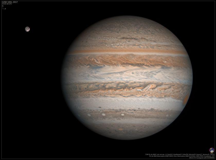 Jupiter on June 10, 2017