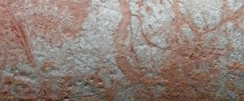The Reddish Bands of Europa