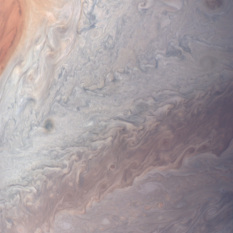 Juno perijove 12 pass in natural color