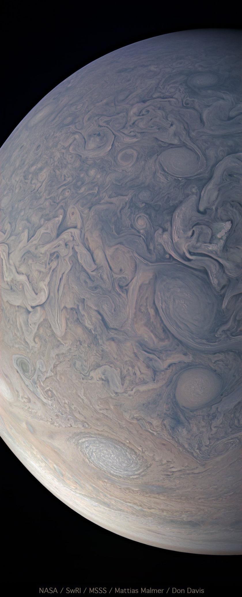 Jupiter's northern turbulent region