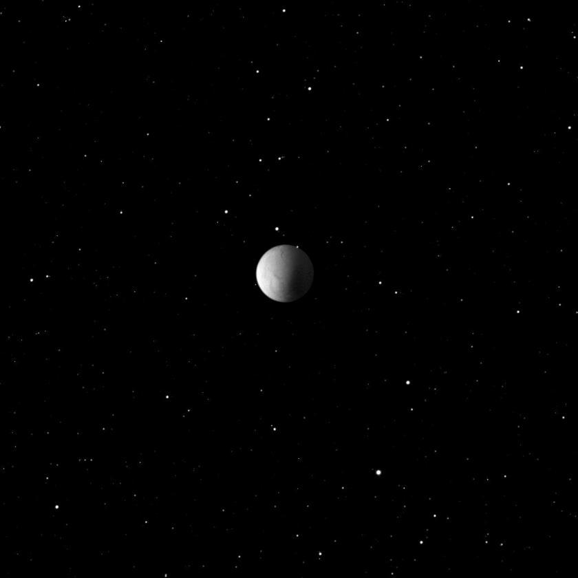 Enceladus among stars