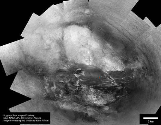 Large surface mosaic of Titan