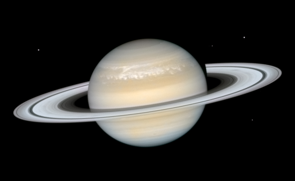 Saturn S Storm From Hubble The Planetary Society