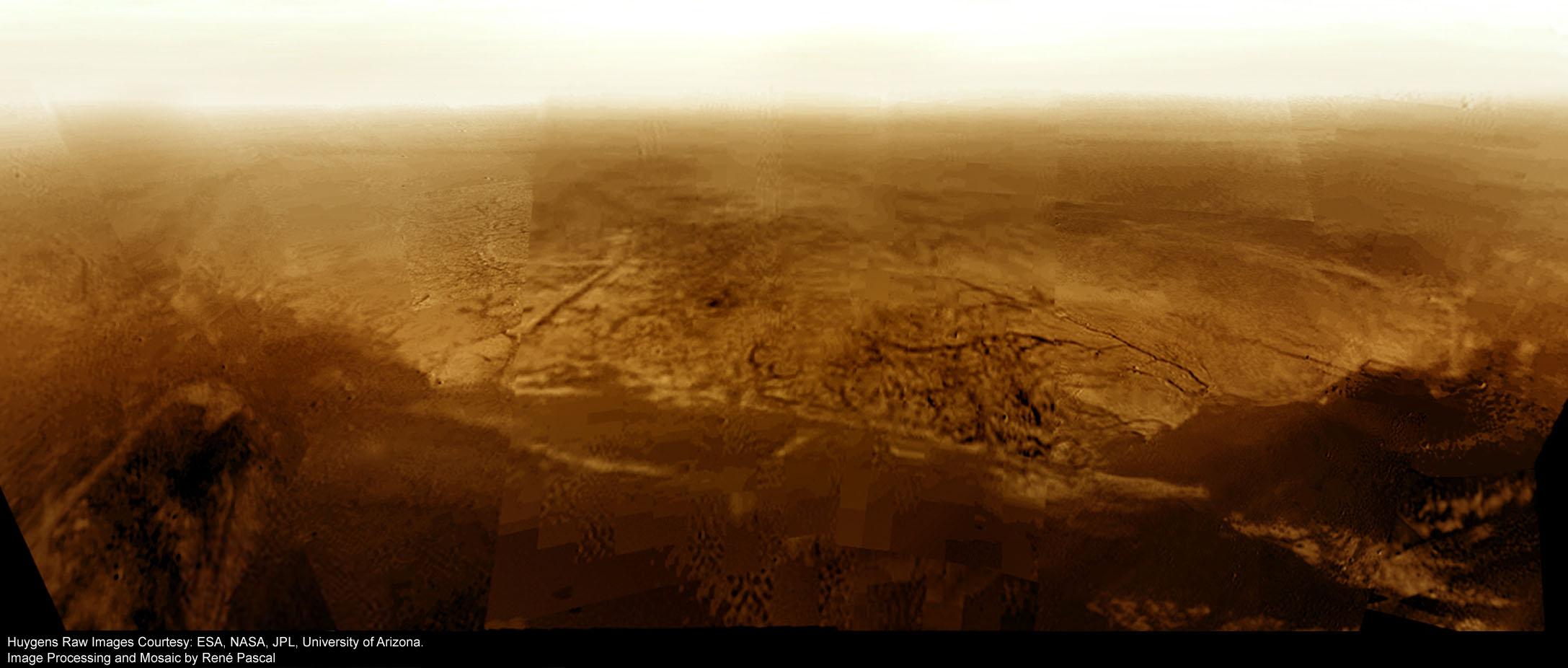 Resultado de imagen de Imágenes de la Huygens de Titan