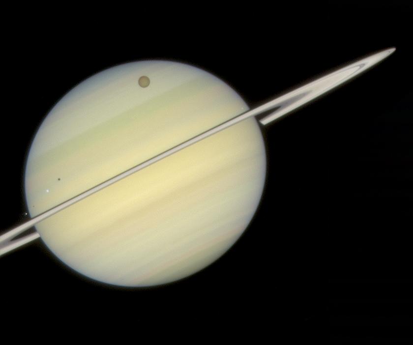Saturn quadruple transit