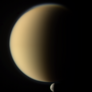 Titan and Dione