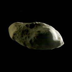 Saturnian moon Prometheus