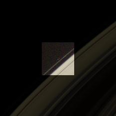 Pandora barely visible