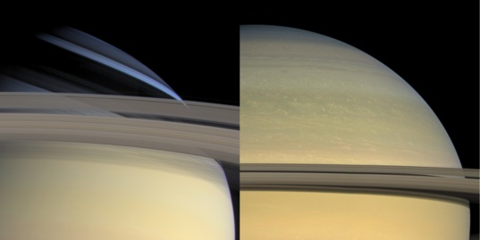 Changing seasons on Saturn
