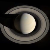 Saturn within its rings