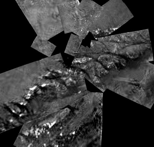 Highest-resolution available images of the <i>Huygens</i> landing site