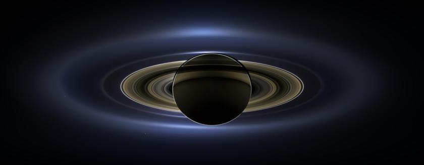 In Saturn's Shadow (The Day the Earth Smiled)