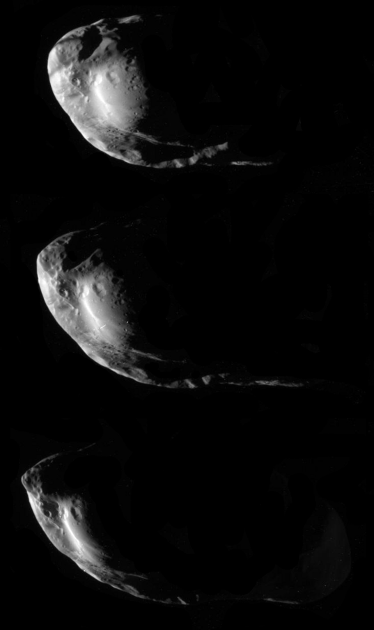 Three views of Prometheus