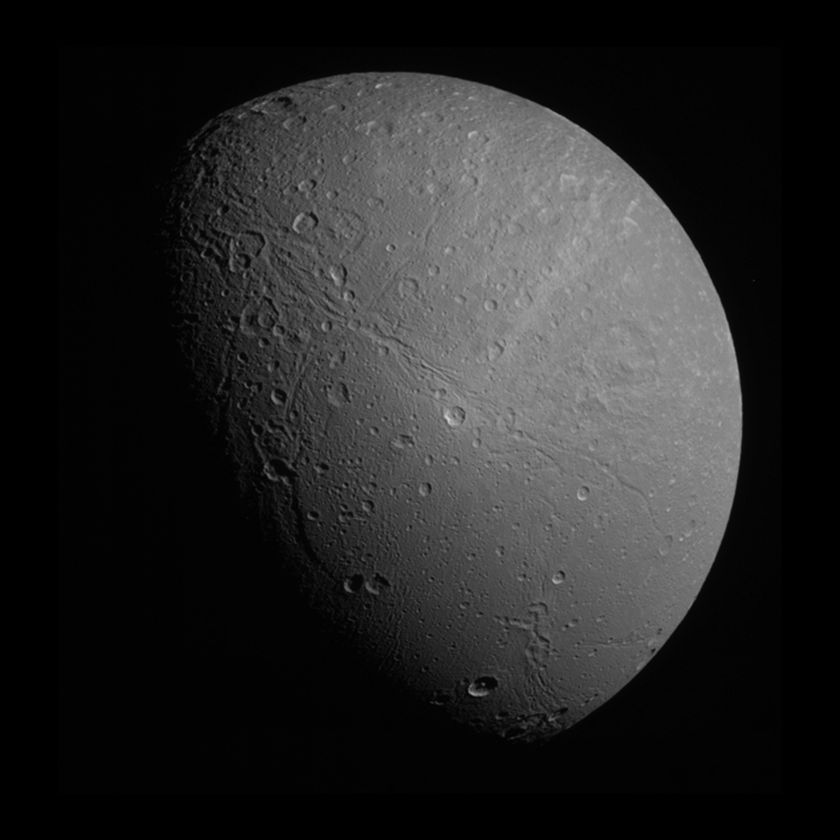 Dione in color