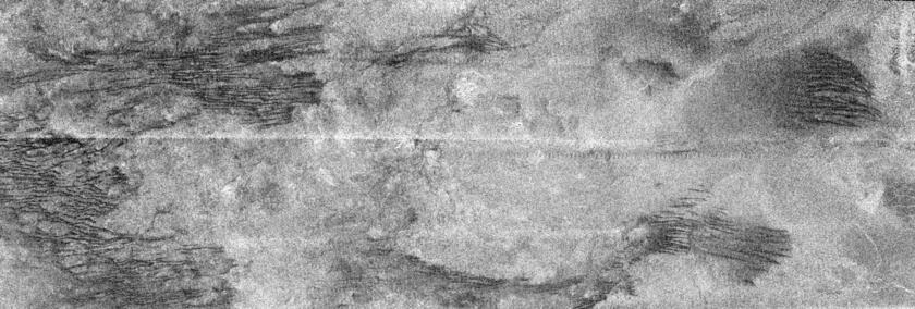 Cat scratches on Titan
