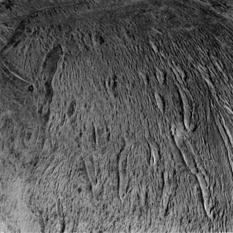 View over Enceladus' south