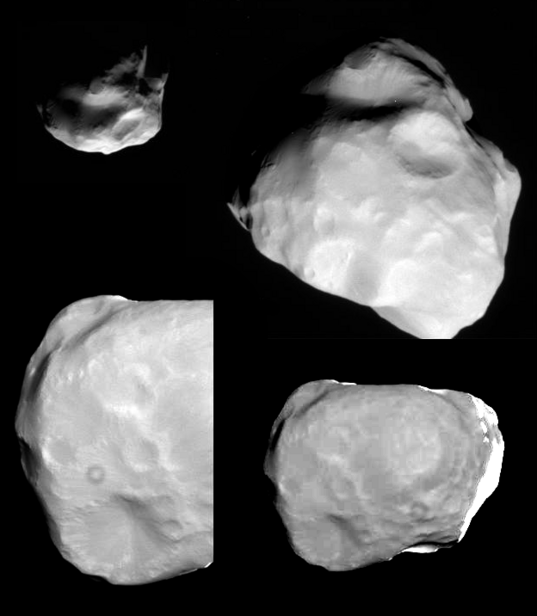 Helene from Cassini's March 3, 2010 flyby