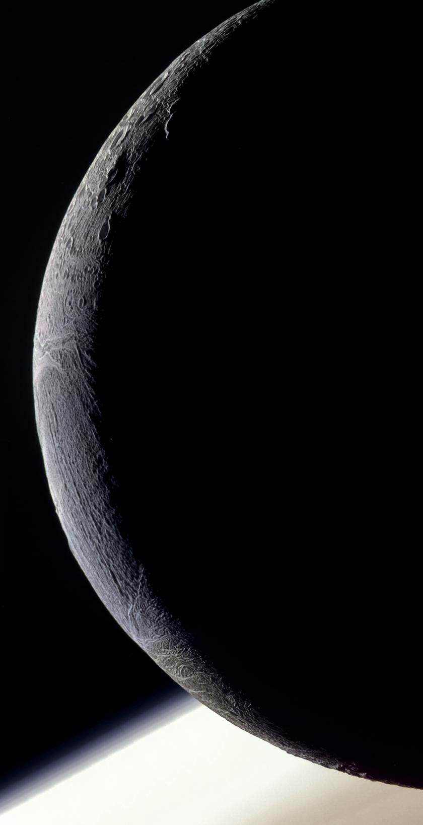 Enceladus and Saturn